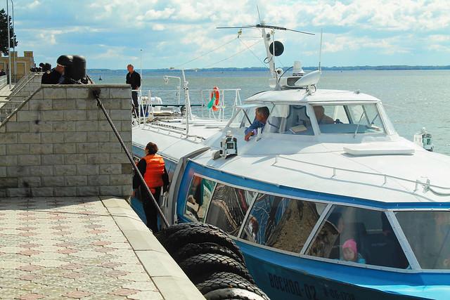 «Восход» спассажирами наборту сломался натретий день рейса «Самара— Сызрань»