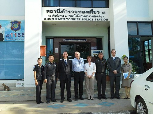 British Ambassador Mark Kent visits Khon Kaen  Khonkaen photo gallery