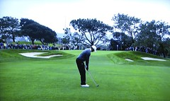 Torrey Pines GC (South), Hole #2 - Tiger Woods (rbglasson) Tags: california golf landscape tv torreypines lajolla canons5is