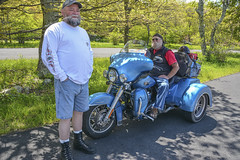 Joe and Lawrence (Simon Saint) Tags: harleydavidson nationalparkservice blueridgemountains shenandoahnationalpark