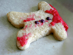 Cookie Murder (jazzijava) Tags: school food cookies dessert baking sweet gingerbread sugar snack morbid vegetarian macabre montessori baked decorated sugarcookie royalicing mlca abccookies vegetarianbaking schoolsnack montessoriajax montessorilearningcentreofajax