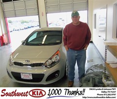 Southwest Kia of Dallas would like to wish a Happy Birthday to Kenneth Crowell! (Southwest Kia Dallas) Tags: new southwest car sedan truck wagon happy dallas texas tx used vehicles mesquite bday dfw kia van suv coupe rockwall dealership hatchback dealer customers minvan 4dr metroplex shouts 2dr preowned