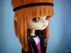 Amy new wig handmade by me (BelladonaGarmog Doll's) Tags: portrait hair toy toys doll pretty dolls amy handmade dal phoebe mueca hellcatpunk panasonicdmcgh2 phoebehellcatpunk belladonagarmog