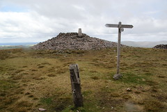 The top of Windy Gyle (Bill Boaden) Tags: northumberland hilltop cheviots trigpoint coquetdale windygyle