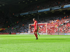 Carragher in action (kersalflats) Tags: club liverpool football jamie stadium reds mighty qpr anfield lfc carragher