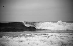 (Melissa Emmons Photography) Tags: ocean california sunset beach nature water beautiful canon sand rocks waves horizon malibu 5d shorebreak greatnature