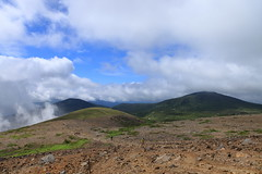 Mt. Issaikyozan (satoson) Tags: mountain nature japan volcano mountainclimbing    fukushima  inawashiro     canon5dmarkii  mtissaikyozan azumarenpo azumaridge