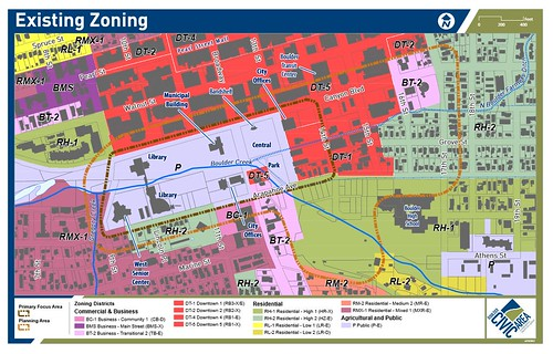 Photo - Current Area Zoning Map