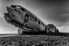 DC-3 (Kristinn R.) Tags: sky clouds iceland nikon dc3 d3x slheimasandur nikonphotography kristinnr