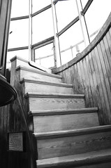 Stairs to the Lens (Jon Wittman Photography) Tags: bw stairs newjersey lighthouses scenic nj capemay nikond90 elementsorganizer