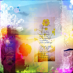 Summer Solstice, Sitka 1993 (sbpoet) Tags: art collage digital poem digitalart journal artjournal digi artjournaling