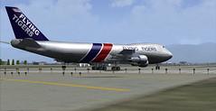 Flying Tiger 747-200F at Anchorage (chrisjake1) Tags: alaska tiger anchorage tigers anc 747 742 flyingtiger 747200 panc 747200f b742 742f b742f n810ft