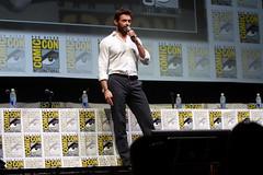 Hugh Jackman (Gage Skidmore) Tags: california james san comic hugh diego center international convention jackman con wolverine mangold 2013