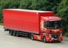 Renault Magnum AQ 953 ED (gylesnikki) Tags: red truck artwork artic airbrush paintjob