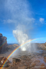 Nakalele Blowhole (JA Photography - Be There, Out There) Tags: ocean hawaii maui blowhole geyser nakaleleblowhole jamesanderson paciificocean japhotography jamesa1 pathfinderblues 888pathfinder 818pathfinder