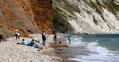 The Beach at Yaverland - Isle of Wight (BOB@ wootton) Tags: beach isleofwight isle wight iow yaverland culver redcliff