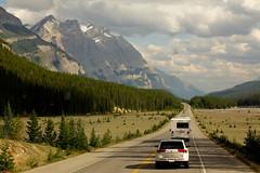 Rocky Mount, Banff National Park, AB, Canada (junhao Lu) Tags: canada car highway traffic van rockymount banffnationalpark