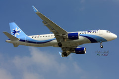 Interjet Airbus A320-200 (XA-IUA) (Arturo Zapata L.) Tags: méxico airbus spotting a320 spotter aicm interjet sharklets