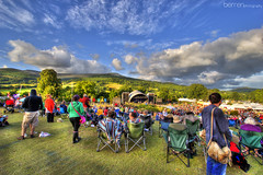 Festival HDR (Berren Photography) Tags: blue sea portrait people cliff cloud white mountain seascape black color colour macro tree green grass festival rock canon lens landscape photography 22 yahoo google high amazing flickr dynamic zoom 10 stage band explore mm range hdr rees facebook 550d berren
