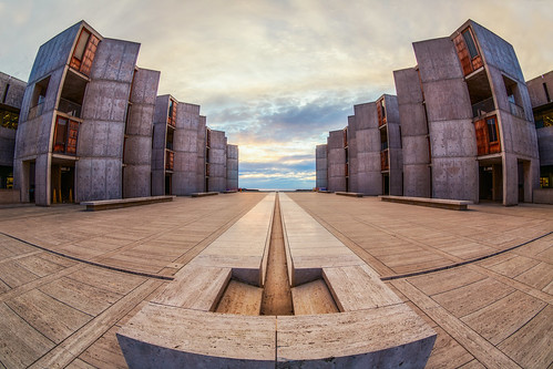 Salk Institute Fisheye by Justin in SD, on Flickr