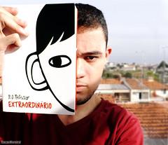 Day 140 - Extraordinrio (R.J. Palacio) (Lucas Silva Moreira) Tags: portrait self project book rj days livro 365 palacio extraordinrio