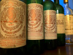 Pichon Baron mini vertical starting with 1937