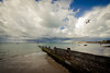 Autumn arrives at Colwell Bay - IMG_2511 (s0ulsurfing) Tags: ocean autumn sea england sky cloud reflection english beach nature water weather clouds composition skyscape island bay coast seaside sand scenery skies natural britain patterns seagull gull flight wide shoreline wideangle september coastal shore isleofwight coastline british 12mm isle groyne cloudporn nube englishchannel wight meteorology nephology 6d colwell colwellbay lamanche westwight sigma1224 2013 beachculture s0ulsurfing