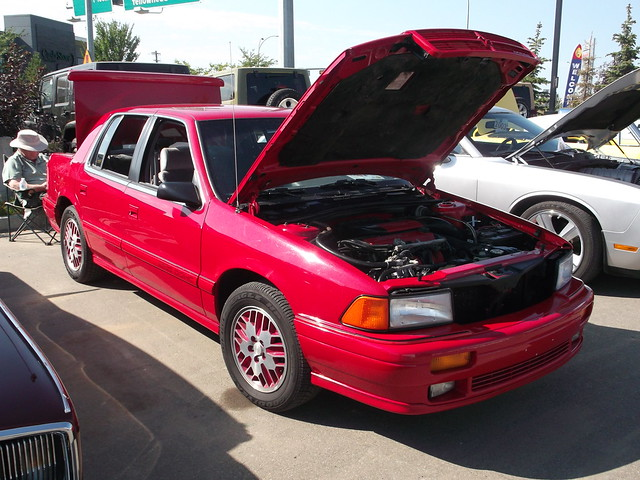 auto red car edmonton spirit dodge 1991 mopar rt crosstown yeg showshine sept14 dodgespirit edmontonmoparclub dodgespiritrt crosstownmotors crosstownautocentre crosstownshowandshine