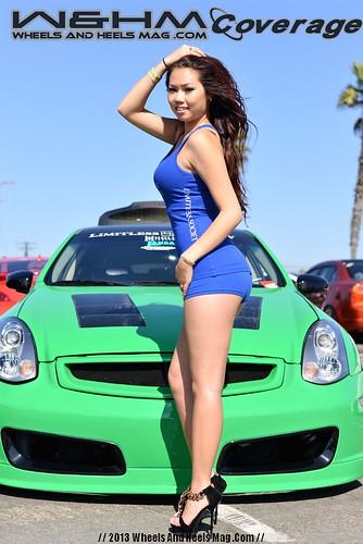 Wheels And Heels Magazine AutoGallery Huntington Beach Car Show - Car show huntington beach