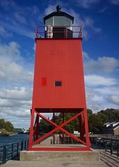 South Pierhead Light (rexp2) Tags: lighthouse lakemichigan greatlakes sonynex5n leicahektor28mmf63 vacation2013fall