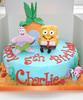 SpongeBob SquarePants Birthday cake (Janet Whitehead's Cakes) Tags: birthday boy sea house cake sand starfish 4th patrick snail bob pineapple spongebob gary sponge 5th 7th 6th squarepants