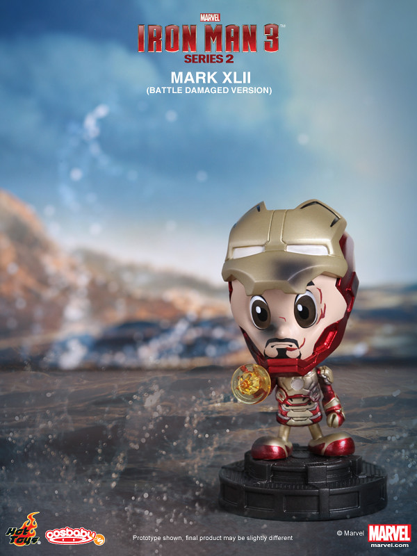 Hot Toys – 鋼鐵人3 COSBABY 第2彈!