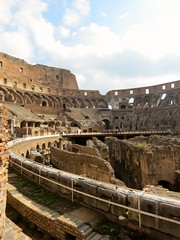 Hypogee du Colisee (A-MPerrone) Tags: rome architecture coliseum colosseo colisee