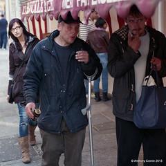 "Caution .....Dublin Street (Anthony Cronin) Tags: ireland analog superia irelanddublin ""inner street"" ""fuji irishlife ""street 200"" dublinlife dublin"" dublinirish streetsdublin dublinliving ""dunne tpastreet photangoirl dublinireland""""nikonf75""""50mmf14d""50mmf14d""""anthonycronin""""©allrightsreserved""""irishphotography""streets""dublinstreetphotography""""streetsofdublin"
