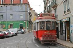 Rua da Graça (ernstkers) Tags: ccfl carris streetcar tram tramvia tranvia trolley portugal lisboa lisbon touristtram6 585 ccfl585 lissabon lisbonne strasenbahn eléctrico carristur bonde spårvagn