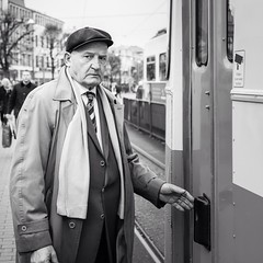 The man and the trolley - Gothenburg, Sweden. #streetphotography #streetphoto (StreetPeople) Tags: portrait blackandwhite bw monochrome square photography blackwhite moments candid streetphotography documentary squareformat streetphoto unposed blacknwhite bnw streetpeople tog decisivemoment streetcandid streetbw streetphotographybw bestcamera iphoneography streetphotobw instagramapp uploaded:by=instagram foursquare:venue=4be05260cb81c9b60d65658b streetog worldstreetphotography danieleliasson