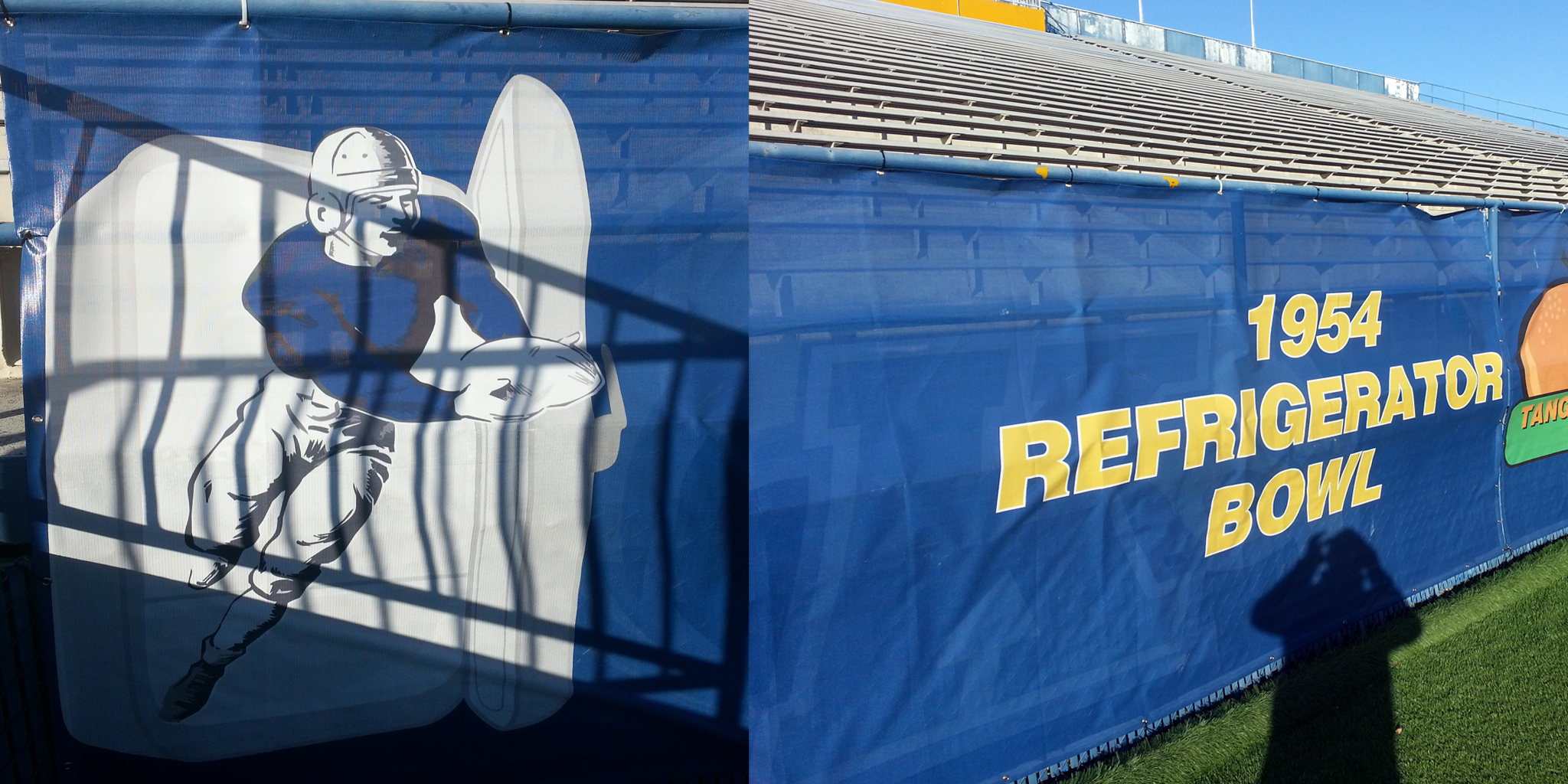 """David Hamenrecently Had A Chance To Walk Around Kent State's Football  Stadium """"on The North Wall, They Celebrate Their Bowl Games, And I Found  This Logo Of"""