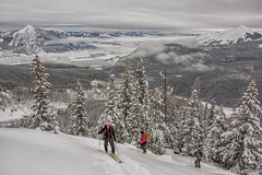 IMGP1249-Edit (Matt_Burt) Tags: ski climb colorado powder backcountry ascend skiers redlady