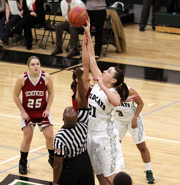 Senior Allison McDonald tied a program record with seven blocked shots in the win at West Virginia State on Friday night. Copyright 2013; Wilmington University. All rights reserved.