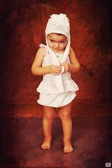 \ Miss  Panty-Hose (MissSmile) Tags: portrait cute art girl studio fun kid funny child pants artistic memories style shy hose processed mischievious misssmile