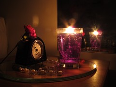 By Candlelight (hapsnaps) Tags: new red clock glass mirror candle purple hampshire pearls artdeco candlelight carnation southampton favouritethings 2014 redcarnation artdecoclock glasscoaster hapsnaps 114picturesin2014 mrts365