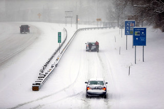 【波士顿大图集】在极度深寒中战抖的美国
