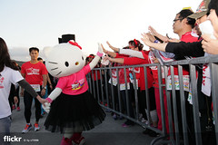 Hello Kitty Run @ Taipei 2014 #The Power of Sweet  (Allen_2 ll YA_ ) Tags: hello flickr kitty run taipei 2014   thepowerofsweet