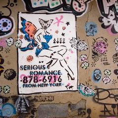 Serious Romance (Mr Baggins) Tags: streetart graffiti stencilart soweto kliptown ladyaiko