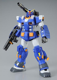 MG 1/100 全裝甲鋼彈 (藍色式樣 Ver.)
