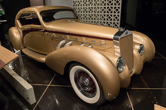 1937 Delage D-8 Coupe Aerosport (mark6mauno) Tags: museum nikon automobile automotive d8 nikkor coupe 1937 delage petersen d4 petersenautomotivemuseum aerosport nikond4 2470mmf28g