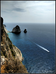 Mizithres, Zakynthos island (Terezaki ✈) Tags: trip travel blue autumn winter light sea sky seascape beach nature clouds island greek photography boat photo rocks day searchthebest hellas greece grecia zante zakynthos pictureperfect photooftheday 2014 ionian naturesfinest ελλάδα 100faves 50faves 100favs 70faves anawesomeshot flickrdiamond theperfectphotographer bestoftheday fiordilevante isoladoro