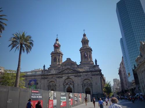 Plaza de Armas, Santiago, Chili