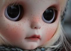 Jude (andreeamariuka) Tags: cute doll carving lips blythe freckles custom rbl faceup mariuka goodygogo