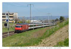 Re 460 071- (CC72080) Tags: train sbb locomotive tolochenaz cff re460 interrégio